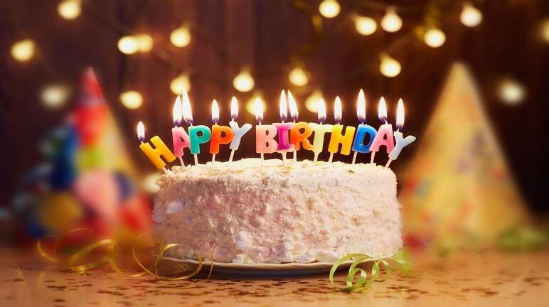 Chiếc bánh gato ngọt ngào cho sinh nhật chàng