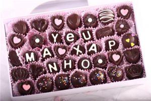 Những viên chocolate ngọt ngào
