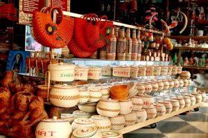 Các sản phẩm mây tre đan truyền thống của dân tộc