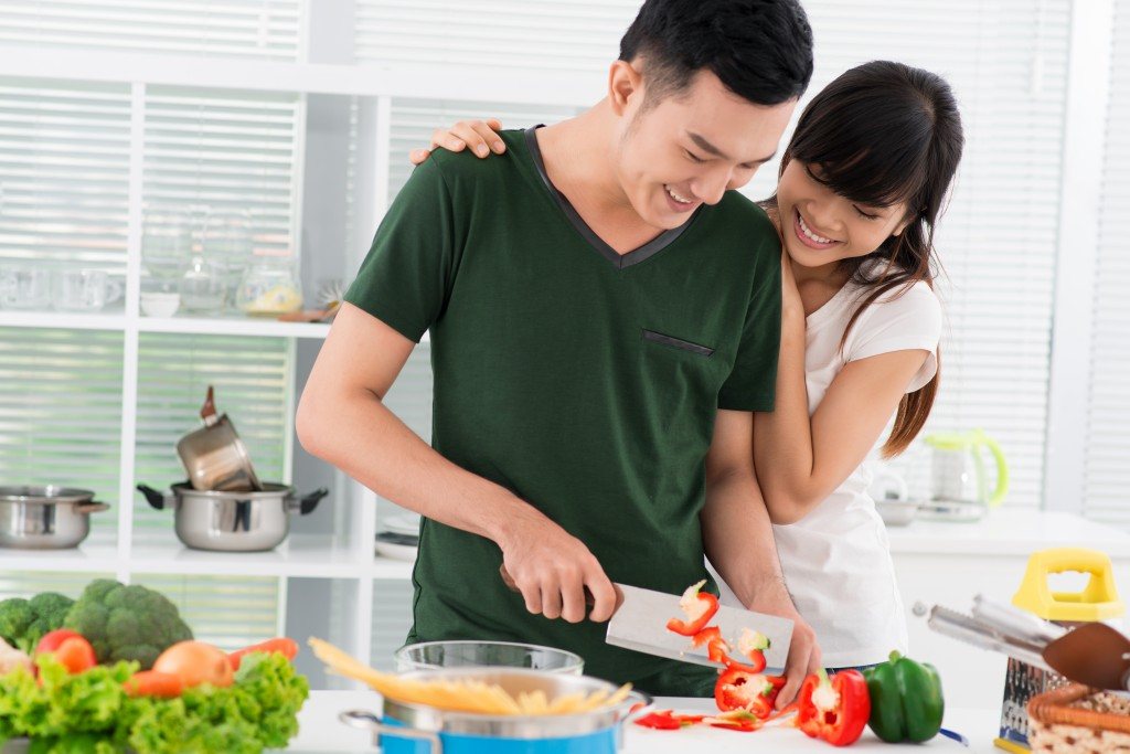 Các nàng siêu thích được ông xã nấu ăn cho