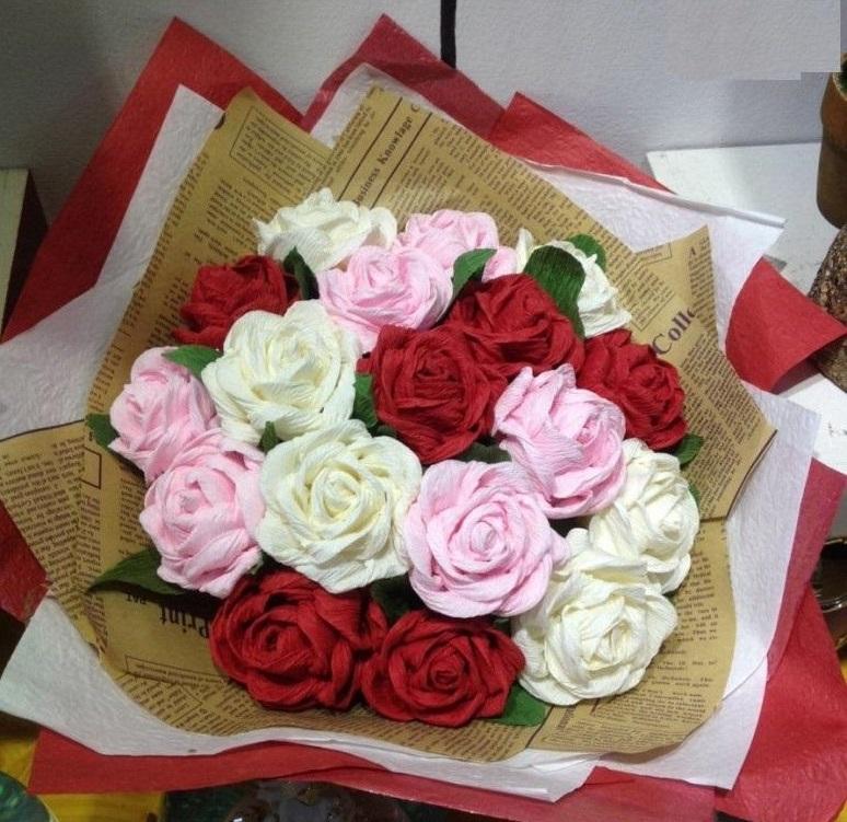 Hoa hồng giấy là một gợi ý tuyệt vời cho bạn