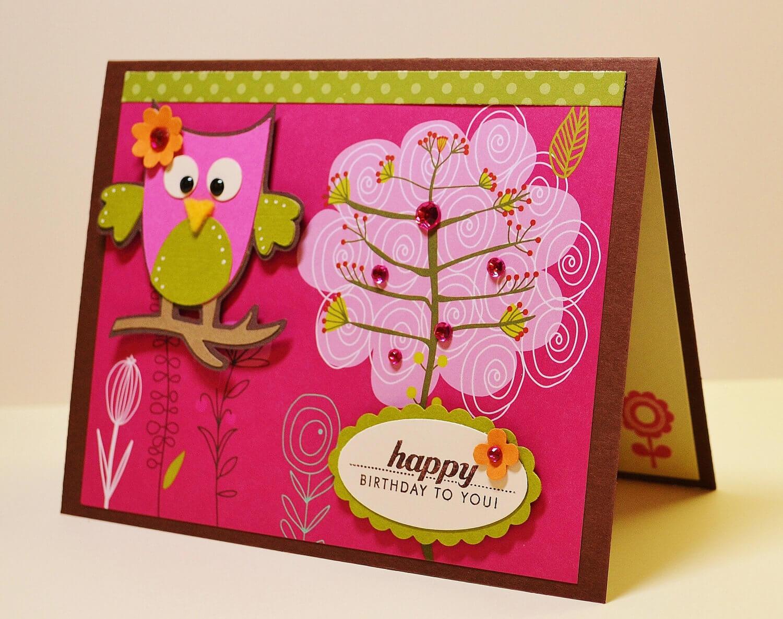 Thiệp sinh nhật handmade đáng yêu