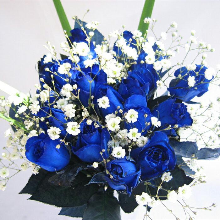 Hoa hồng xanh đẹp tinh tế, dịu dàng