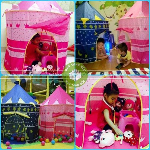 Lều bóng công chúa hoàng từ cho bé yêu