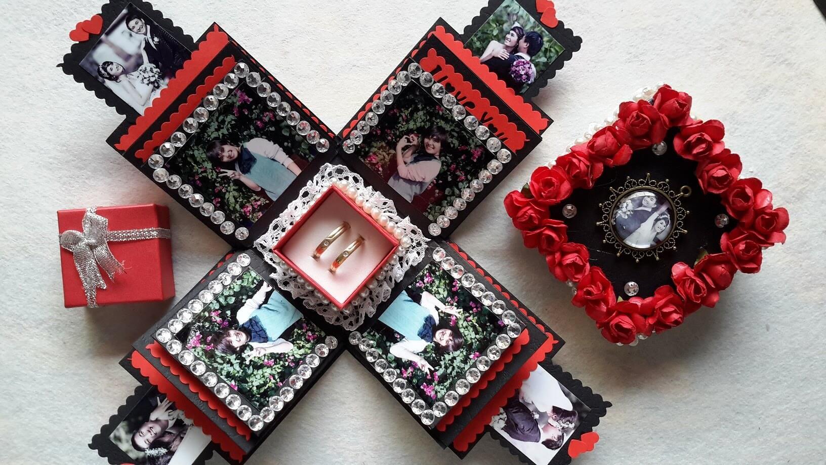 Những chiếc hộp lưu giữ kỉ niệm tình yêu