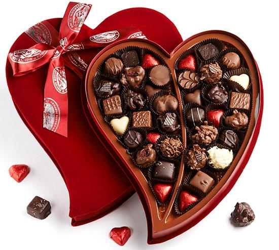 Những viên socola ngọt ngào