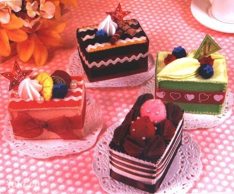 Hay những chiếc bánh nhỏ đơn giản hơn