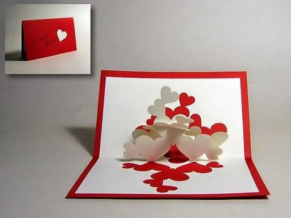 Thiệp valentine độc đáo