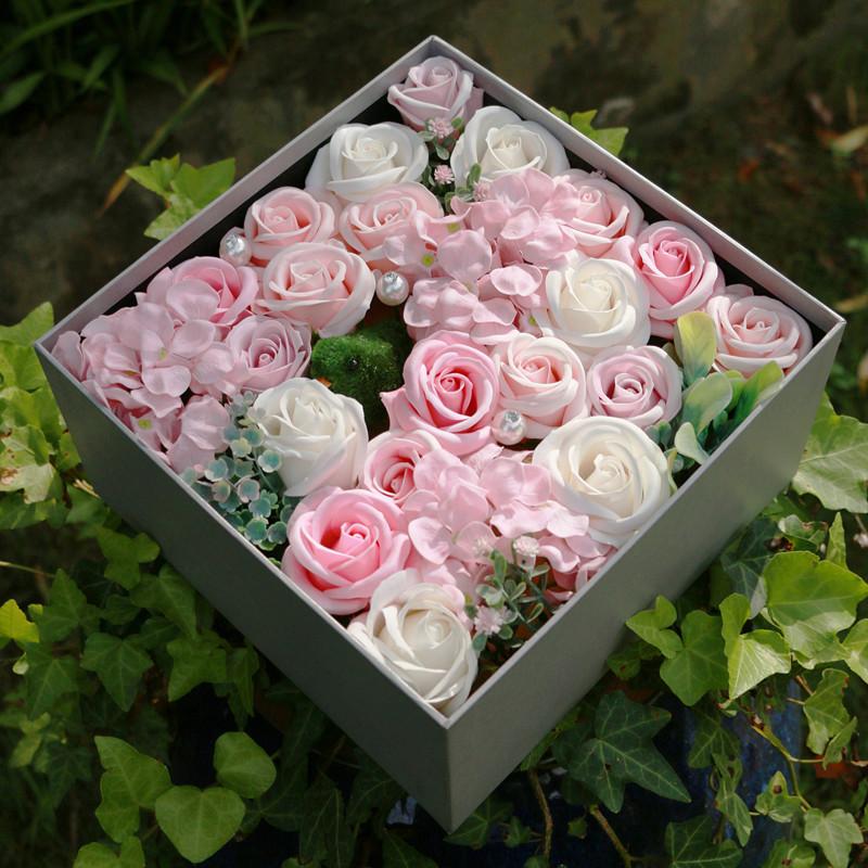 Sáp thơm hoa hồng