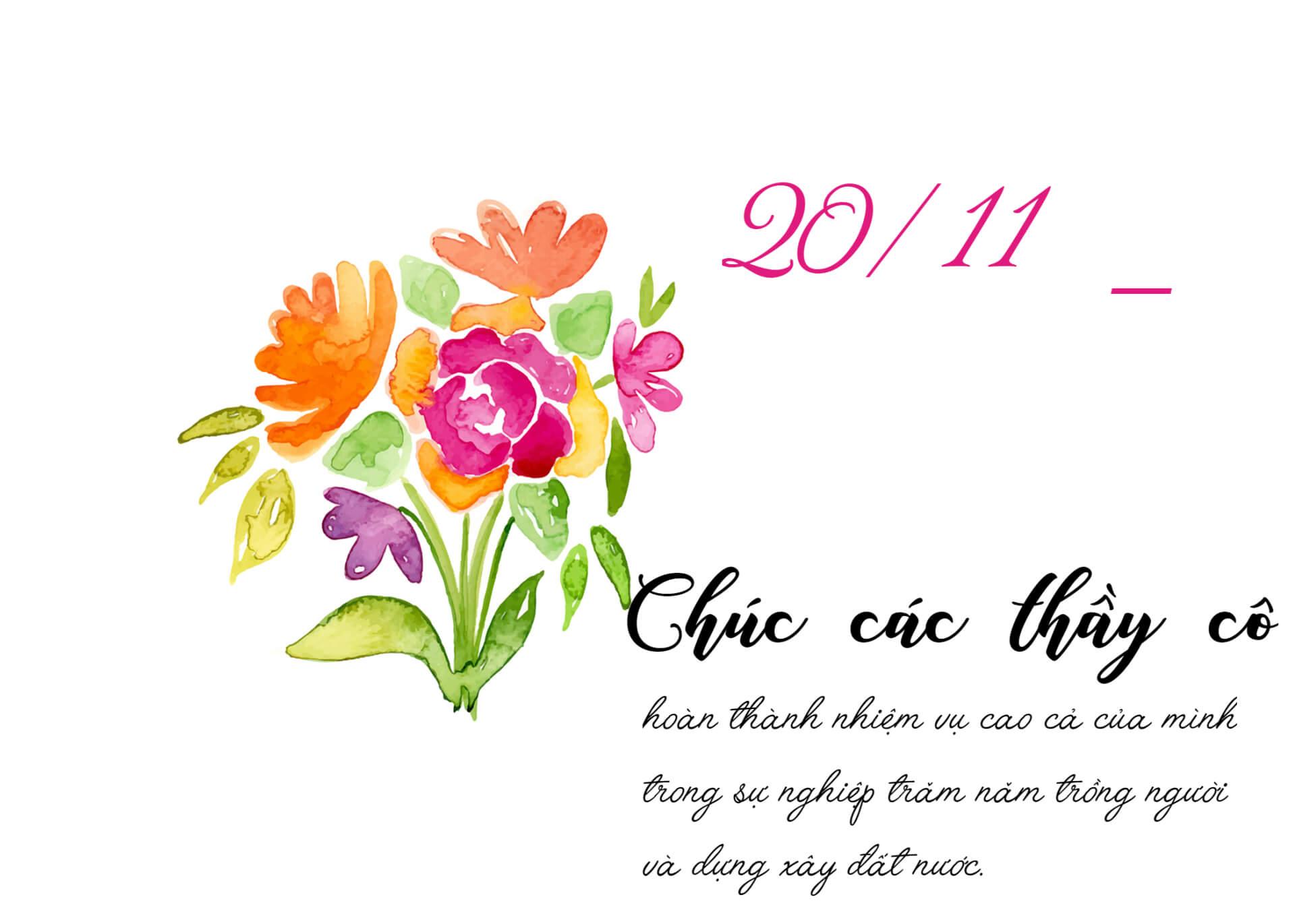 Những món quà tặng ngày 20/11 siêu ấn tượng