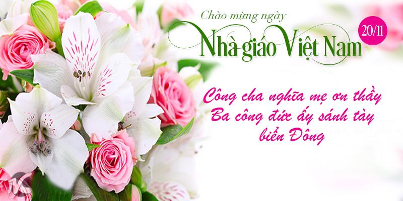 Những tấm thiệp chúc mừng ngày nhà giáo Việt Nam ý nghĩa nhất