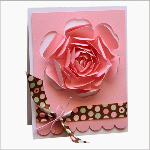 Hướng dẫn cách làm thiệp sinh nhật đơn giản hoa hồng