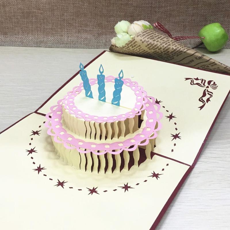 Thiệp kirigami sinh nhật vô cùng đẹp và mới lạ