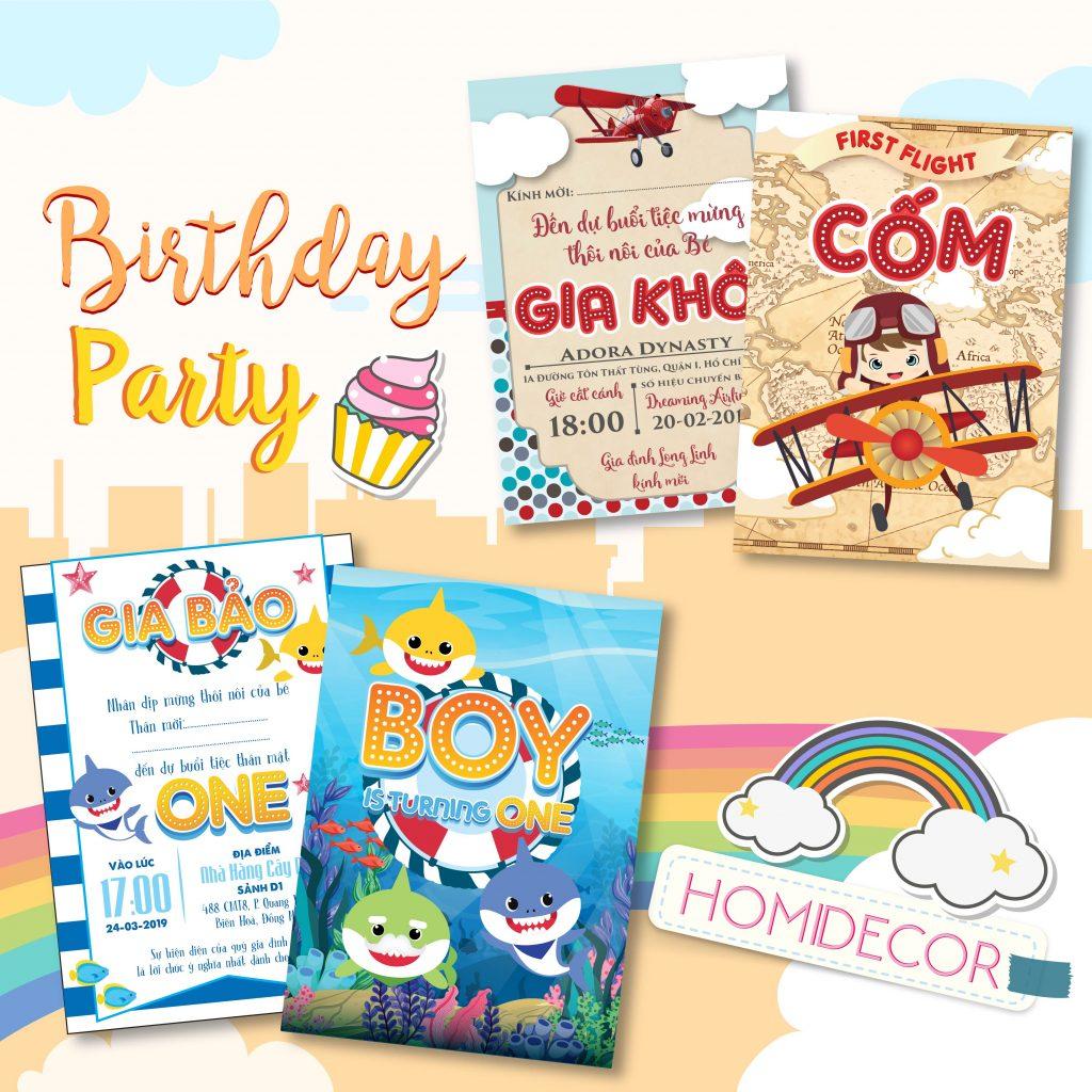 Tổng hợp những mẫu thiệp sinh nhật một tuổi cho bé siêu dễ thương