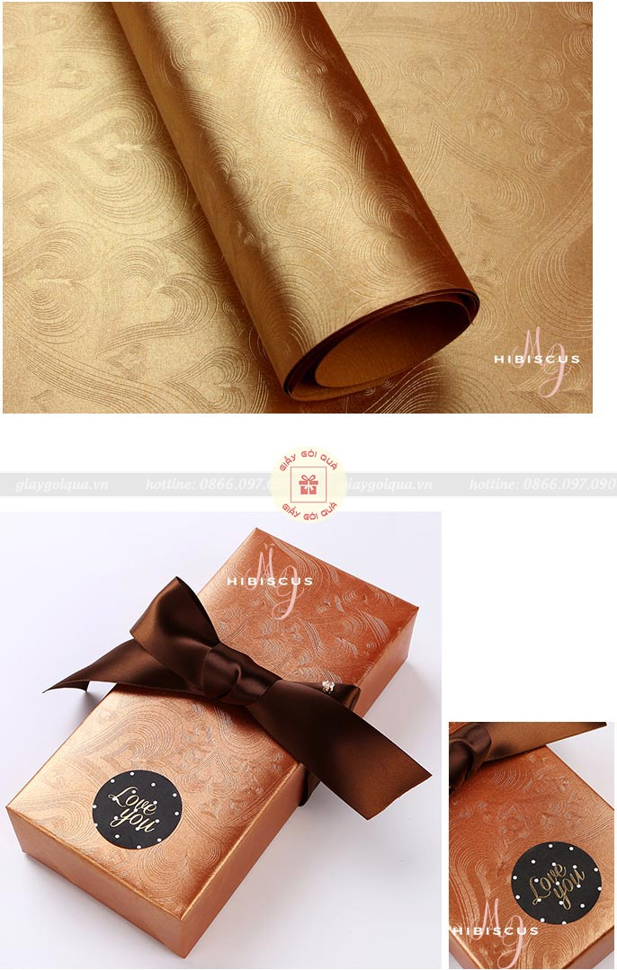 Những mẫu giấy màu đẹp dùng để gói quà tại Quà Tặng Độc