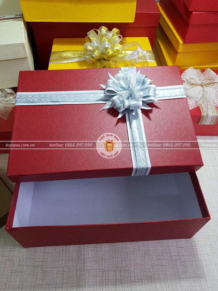 Hộp quà tặng đẹp HQ07 - Kích thước 30x20x10