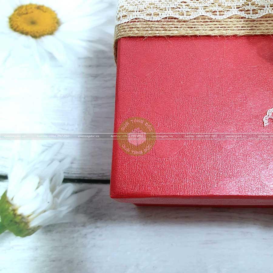 Hộp quà tặng đẹp HQ01 - Kích thước 23x13x7