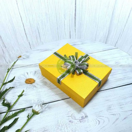 Hộp quà sinh nhật, hộp quà đẹp HQ12 – Kích thước 23x17x7