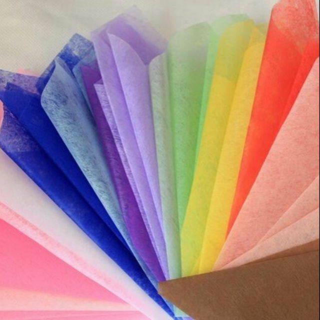 Mua giấy lụa dùng gói quá, bó hoa ở đâu ?