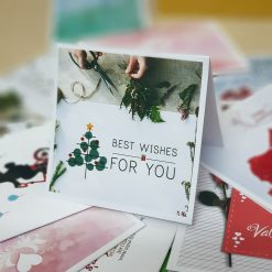 TM05 – Thiệp Mừng Best Wishes For You