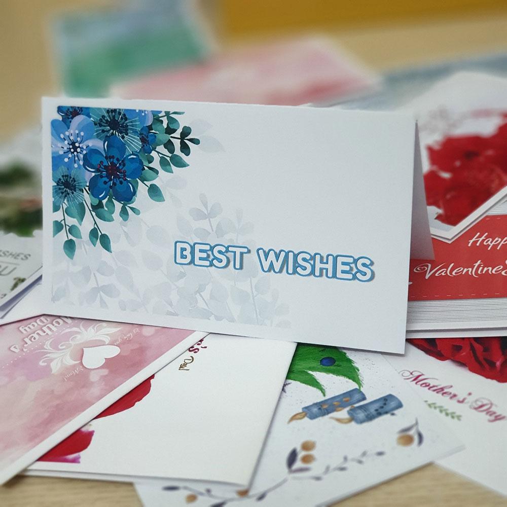 TM08 – Thiệp Mừng Best Wishes