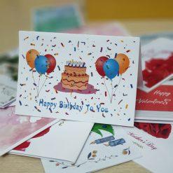 TM18 – Thiệp Mừng Happy Birthday To You