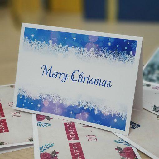 TM28 – Thiệp Mừng Giáng Sinh Merry Chrismas