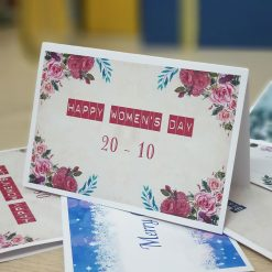 TM31 – Thiệp Mừng 20-10 Happy Woman's Day