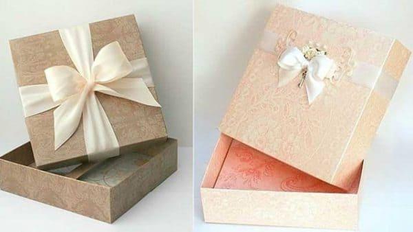 Hướng dẫn chi tiết cách gấp hộp quà handmade