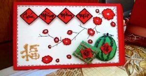 Cách làm thiệp năm mới handmade tặng bạn bè