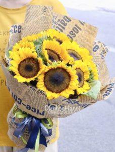 Giấy báo gói hoa