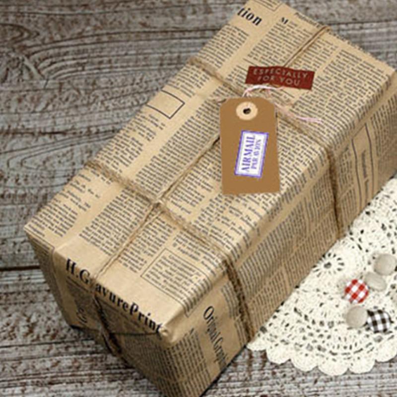 Giấy gói quà vintage – nét hoài cổ sâu lắng và bình yên