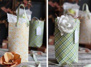 [Hướng dẫn] Cách gấp túi giấy handmade từ giấy gói quà