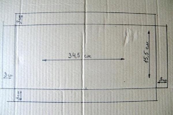Xác định kích thước của lắp hộp đựng quà