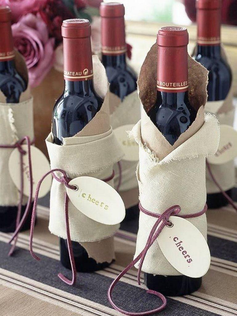 Giấy gói rượu đơn giản