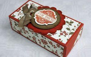 Hướng dẫn cách làm hộp quà đựng bánh trung thu đẹp mắt