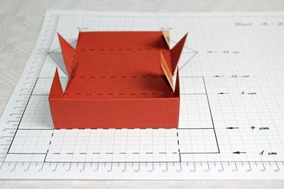 Hướng dẫn cách làm hộp quà đựng bánh trung thu