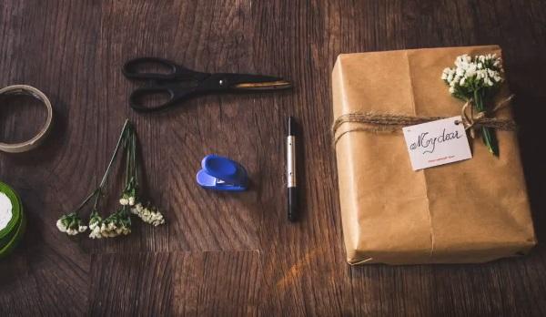 Cách gói quà đơn giản - Bước 4